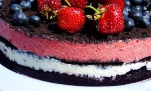 Торт из мороженного