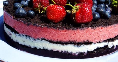 Свадебный торт для диетиков