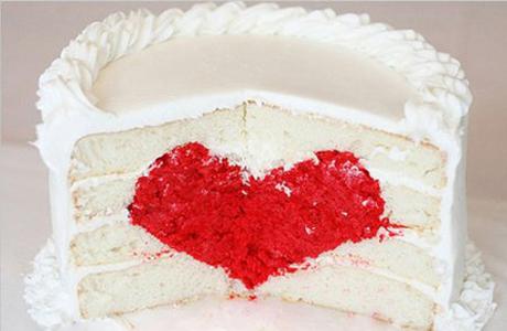 Торт с сердцем