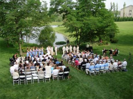 Церемонии бракосочетания на открытом воздухе