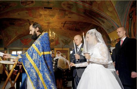 Церемония бракосочетания у католиков