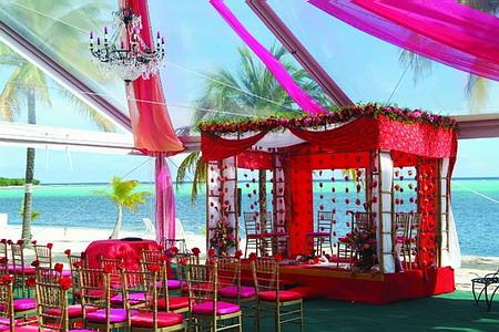Церемония в индийском стиле