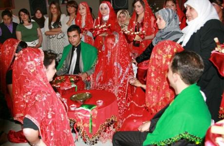 Турецкая свадебная церемония