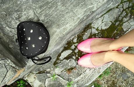 Удобная обувь и сумочка