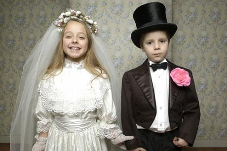 В Норвегии обручаются еще в детстве