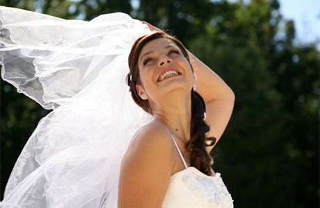 перед свадьбой - невеста