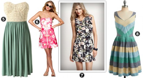 Выбери модное платье для посещения свадьбы