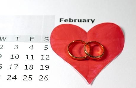 Выбор месяца для свадьбы