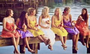 Звездные подруги невесты