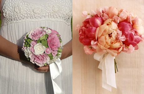 Букет невесты с летной