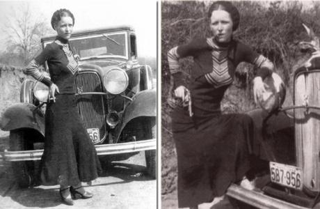 Бонни Паркер - роковая женщина