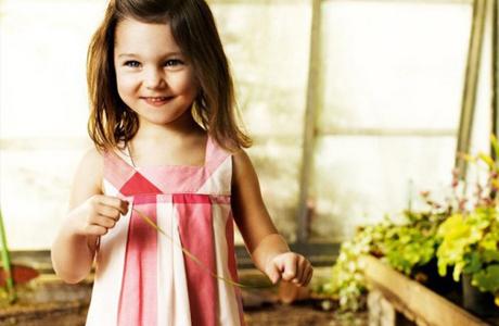 Одежда для девочки от Burberry Kids