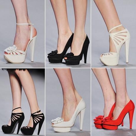 Подобрать туфли к вечернему платью