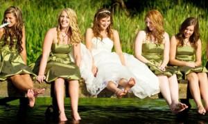 Дресс-код для вегетарианской свадьбы