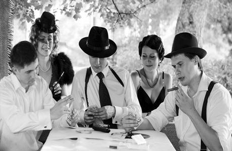 Дресс-код на гангстерской свадьбе