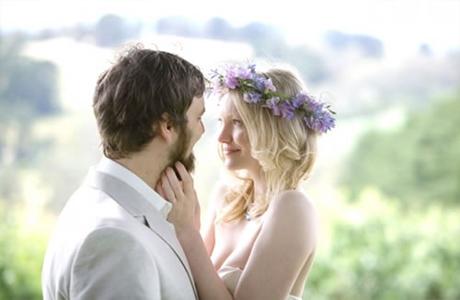 Живые цветы на свадьбе