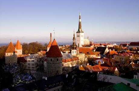 Эстонцы едут на мальчишник в Таллин