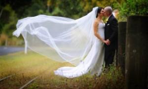 Фата пришла в образ современной невесты из древних обрядов