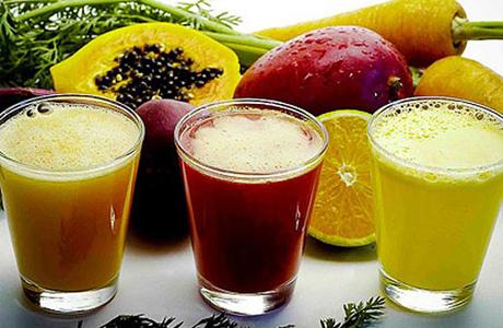 Фрукты и фруктовые коктейли