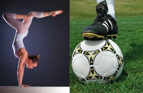 Спортивные браки Украины: футболисты и гимнастки