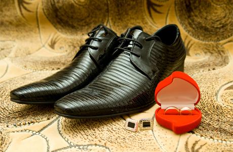 Как подобрать туфли жениху