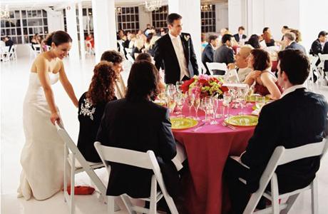 Гости на свадьбе - как рассадить