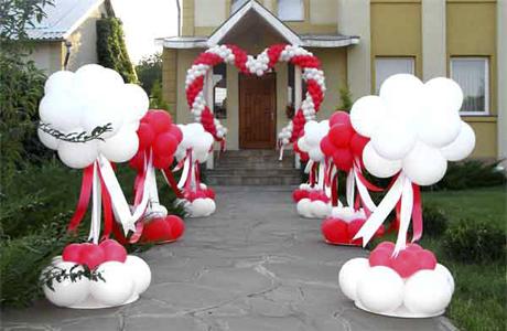 Какие шары выбрать для свадьбы
