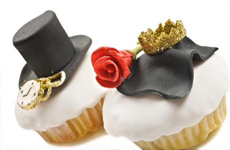 Свадебные торты - жених и невеста