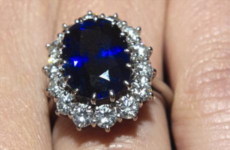 Кольцо, подаренное принцом Уильямом