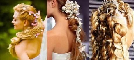 Свадебная прическа: Коса-краса