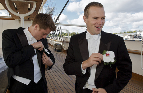 Свадебный костюм свидетеля