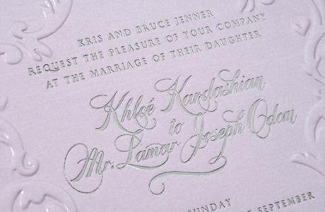 Свадебные пригласительные от знаменитостей