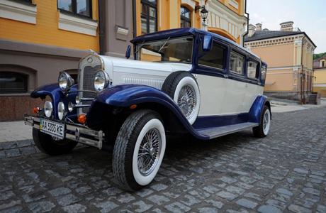 Ретро-авто на свадьбу Al Capone 1931 года выпуска
