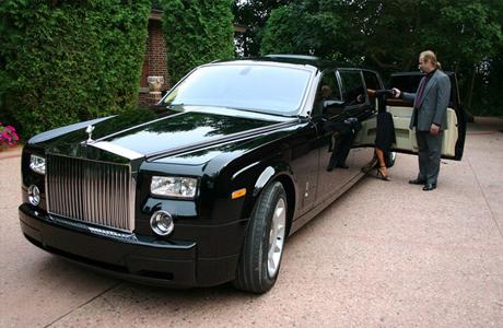 Лимузин на свадьбу с водителем