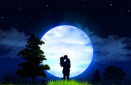 Луна имеет непосредственное влияние на будущую жизнь новобрачных