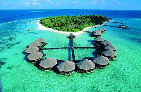 Медовый месяц на Мальдивы
