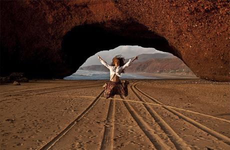 Марокканский пляж Лезгира