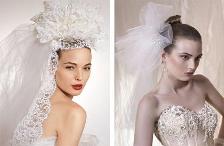Модная фата невесты