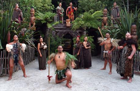 Музыка и танцы маори