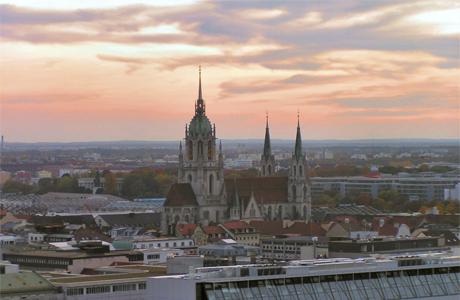 Медовый месяц в Мюнхене