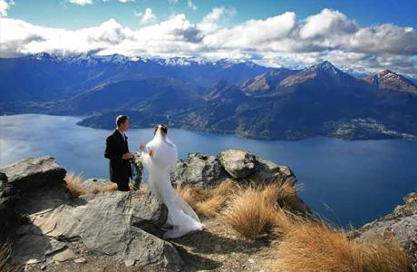 Новая Зеландия: свадьба за границей