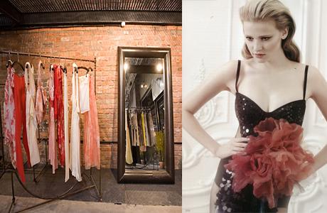 Свадебное платье в бутике
