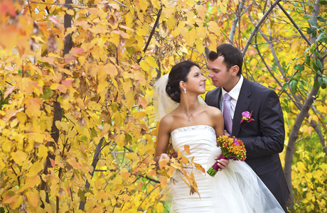 Дата свадьбы - осень