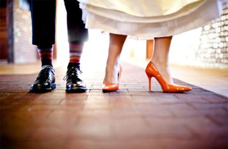 Осенне-весенняя обувь жениха