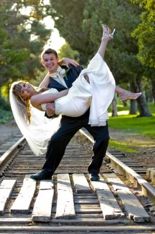 Жених с невестой