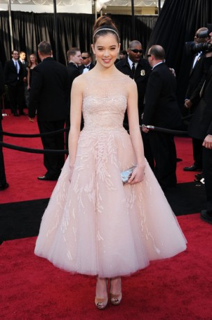 Вечернее платье Хейли Стайнфелд