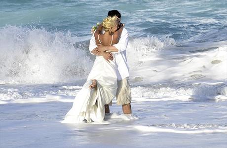Пляжи Маврикия: молодожены