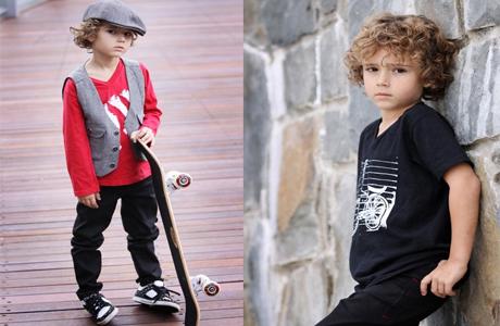 Яркая одежда для мальчика