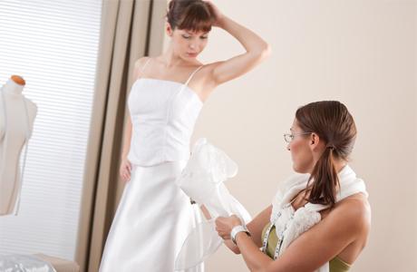 Починка свадебных платьев