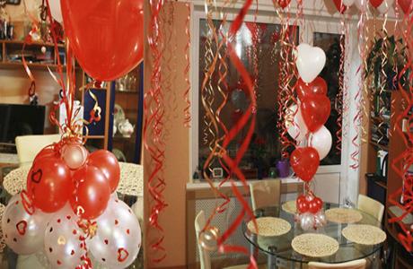 Идея воздушные шары для украшения